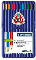 Staedtler JB Ergosoft Coloured Frabstift 12er Pack