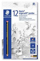 Staedtler Noris Ergosoft Jumbo Bleistift 12er Pack