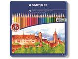Staedtler Farbstift ABS 24er Metallschachtel
