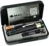 Maglite LED Grün Solitaire Schwarz Box
