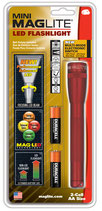 Maglite LED Mini 2AA Multimode Rot Blister