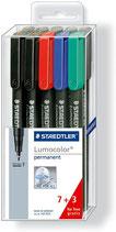 Staedtler Lumocolor Set 7+3 Gratis