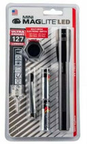 Maglite Mini LED 2AA Schwarz Combo Pack