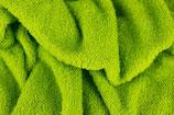 Frottee, uni, Grün