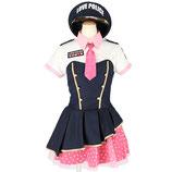 PO08/ラブポリス(帽子・ベアワンピース・シャツの3点SET)