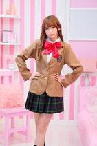 J010/TGマロンスクール( シャツ付きジャケット、リボン、スカートの3点SET )
