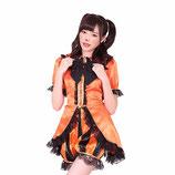 HLP06/ハロウィン ぱんぷきんぐ☆パーティ (トップス・パンツ・リボンの3点SET)