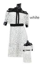 D09/ミディ丈のオフィシャルドレス(ワンピース)