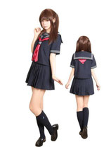 J031/日比谷女子高制服 (トップス・スカート・スカーフセット)