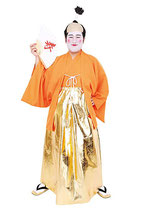 H-ZIDAI003/MENコス 殿様 (前合わせ付き羽織、袴風スカート )