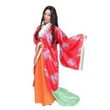 H-ZIDAI002/和風コス 姫様 (Ladies:羽織1個、スカート1個)