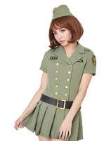 army007/クールアーミー(ワンピース・ベルト・帽子の3点SET)