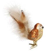 Vogel, frecher Spatz 13 cm