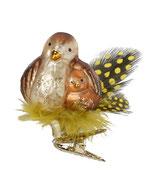 Inge-glas Christbaumschmuck Vogel Hetty
