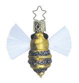 Inge-glas - Christbaumschmuck, Baumschmuck - Fleißiges Bienchen - Glas - 5 cm