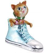 Kätzchen im Schuh, 10,5 cm