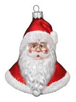 Santa Kopf rot, 10,5 cm
