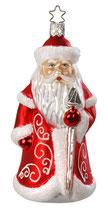 Inge-glas Väterchen Frost, rot, Weihnachtsmann, 14,5 cm