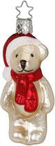 Inge-glas Weihnachtsträume Teddybärchen, 9.5 cm, Weihnachtsträume