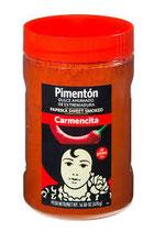 Pimentón Ahumado Dulce. 470 gram. Sin gluten.