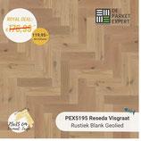 Sample PEX5195 Reseda Visgraat Rustiek Blank Geolied