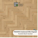 Sample PEX4595 Crestwood Hills Visgraat Rustiek Blank Geolied