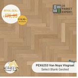 Sample PEX6253 Van Nuys Visgraat Select Blank Geolied