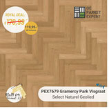 Sample PEX7679 Gramercy Park Visgraat Select Naturel Geolied