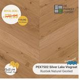 Sample PEX7502H Silver Lake Rustiek Naturel Geolied Hongaars Punt