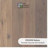 Sample PEX3058 Redesa Rustiek Gerookt Wit Geolied