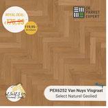 Sample PEX6252 Van Nuys Visgraat Select Naturel Geolied