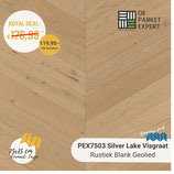 Sample PEX7503H Silver Lake Rustiek Blank Geolied Hongaars Punt