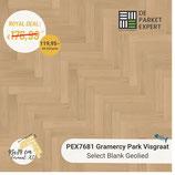Sample PEX7681 Gramercy Park Visgraat Select Blank Geolied