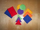 Farben und Formen-Spiel