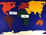 Landkarte aus Filz - BM 233