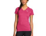UNDER ARMOUR DAMEN TECH SHORT SLEEVE V-NECK