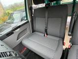 VW T6 / T5 Beifahrerdoppelsitzbank Stoff TASAMO mit Brandloch