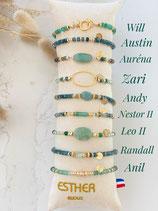 Bracelets thème VERT