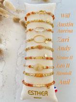 Bracelets thème AMBRE