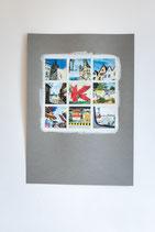 fineART Fotografie auf Zeichenpapier DIN A3 Köln in Farbe