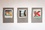 fineART Fotografie auf Zeichenpapier DIN A4 Köln in Farbe 3er Pack