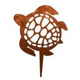 Rost-Deko Schildkröte, 21x18 cm