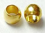25.schiaccini color oro 2mm-conf.2 grammi