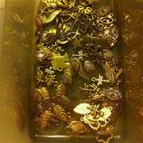 23c.assortimento 100 charms oro OFFERTA 50%