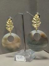 12b orecchini in madreperla
