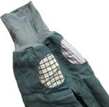 piratenhose 134-152, mit piratentaschen, leinen hellblau