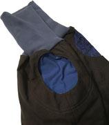 piratenhose 80-116, mit piratentaschen, grau