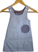 wendekleid 080-110 hellblau-dunkelblau