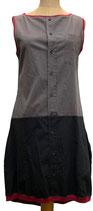 sonnenbrise schwarz-grau mit weinrot, medium
