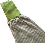 piratenhose 110-134, streif grau mit grün
